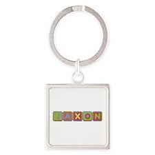 Jaxon Foam Squares Square Keychain