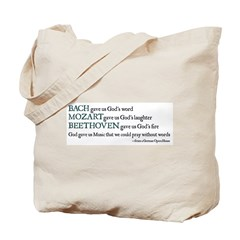 Tonya's BACH Tote Bag