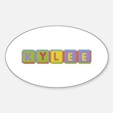 Kylee Foam Squares Oval Decal
