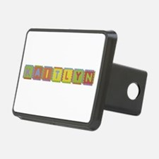 Kaitlyn Foam Squares Hitch Cover