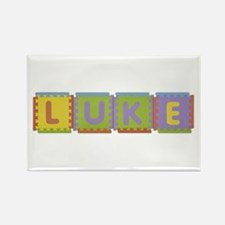 Luke Foam Squares Rectangle Magnet