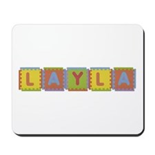 Layla Foam Squares Mousepad