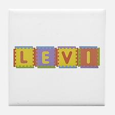 Levi Foam Squares Tile Coaster