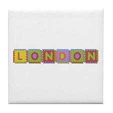 London Foam Squares Tile Coaster