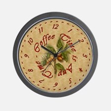 SEG Wall Clock - Coffee Time is Any Time