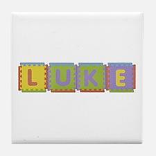 Luke Foam Squares Tile Coaster