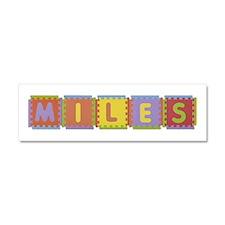 Miles Foam Squares 10x3 Car Magnet