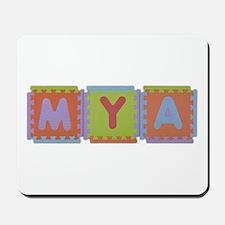 Mya Foam Squares Mousepad