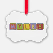 Myles Foam Squares Ornament
