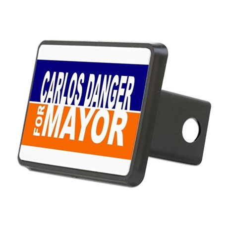 Carlos Danger for Mayor Hitch Cover