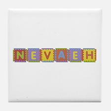 Nevaeh Foam Squares Tile Coaster