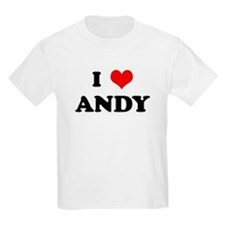 I Love ANDY Kids T-Shirt