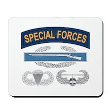 SF CIB Airborne Air Assault Mousepad