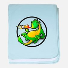 Cute Dragon baby blanket