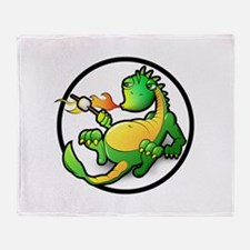 Cute Dragon Throw Blanket