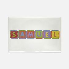 Samuel Foam Squares Rectangle Magnet