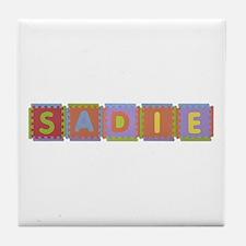Sadie Foam Squares Tile Coaster