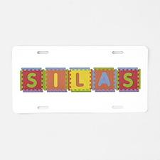 Silas Foam Squares Aluminum License Plate
