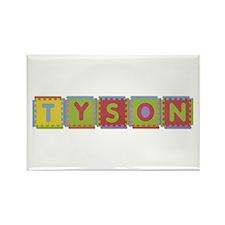 Tyson Foam Squares Rectangle Magnet