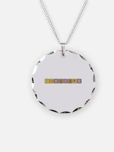 Theodore Foam Squares Necklace