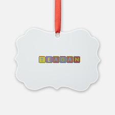 Teagan Foam Squares Ornament