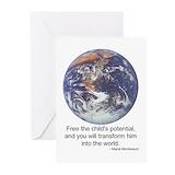 Montessori Greeting Cards (10 Pack)