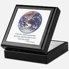 Montessori World - Potential Keepsake Box