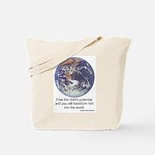 Montessori World - Potential Tote Bag