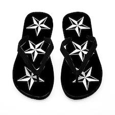 Nautical Star Flip Flops