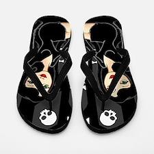 Death Girl Flip Flops