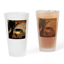 Sunset North Shore Drinking Glass