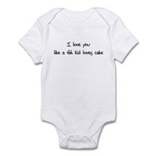 Funny Fatkid Infant Bodysuit
