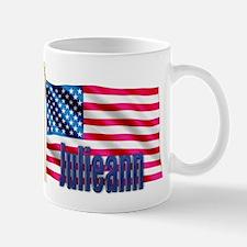 Julieann Patriotic American Flag Mug