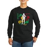 Retro Peace & Love Long Sleeve Dark T-Shirt