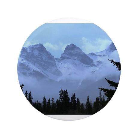 "triple peaks 3.5"" Button (100 pack)"