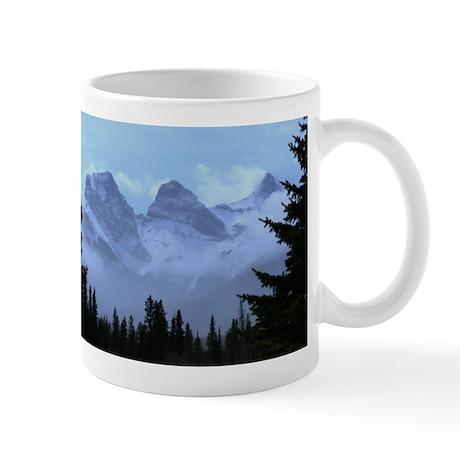 triple peaks Small Mugs