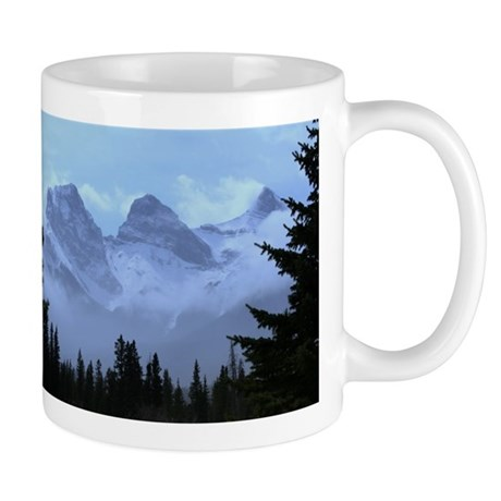 triple peaks Small Mugs