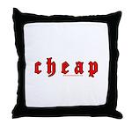 Cheap Throw Pillow