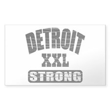 Detroit Strong Decal