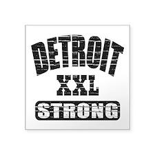 Detroit Strong Sticker