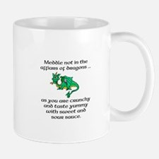 Meddle not in the Affairs of Dragons Mug