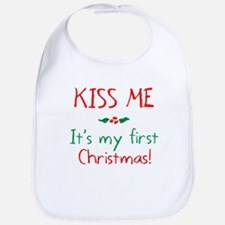 Cute First christmas Bib