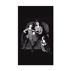 Harbour's Snow White & Rose Red Sticker (Rectangul
