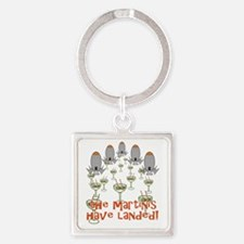 Martinis Have Landed Keychains