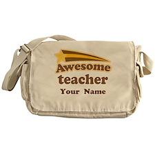 Personalized Teacher Messenger Bag