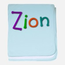 Zion Play Clay baby blanket