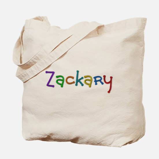 Zackary Play Clay Tote Bag