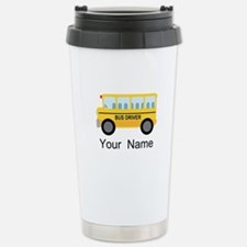 Personalized School Bus Driver Travel Mug