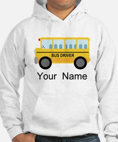 Personalized School Bus Driver Hoodie