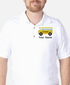 Personalized School Bus Driver T-Shirt